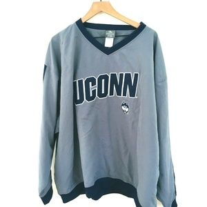 NWT! Univ of Connecticut UCONN Pullover Jacket